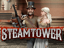 Игровой онлайн-аппарат Паровая Башня